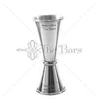 Джиггер The Bars сталь 18/10 (15-22,5-30/37,5-45 мл)