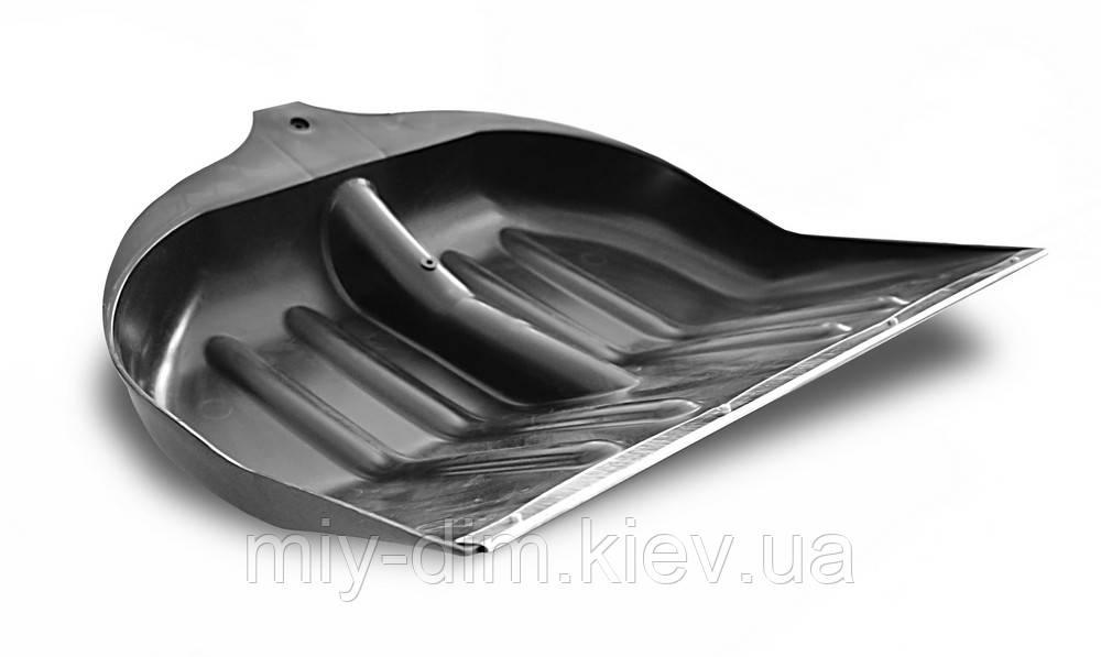 Лопата д/снігу пластикова 400х500 з мет. планк. Ук (70-884)