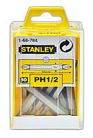 Насадка викрутна -PH1, РН 2х60мм,10шт.STANLEY (47-156)