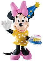 Фигурка Минни Маус: праздник, Disney Mickey Mouse & Friends, Bullyland