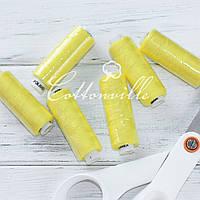 Нитки швейные 40s/2 (200 м) цвет лимон
