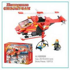 0218 Конструктор лего Sluban Пожарная