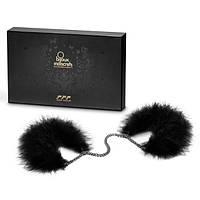 Эксклюзивные наручники Bijoux Indiscrets Za Za Zu Feather Handcuffs, фото 1