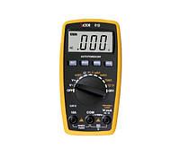 Электронный мультиметр 81 B: автовыбор диапазона, 3 гнезда, термодатчик, щуп, зуммер, память