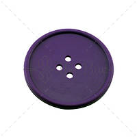 "Костер ""Button"" The Bars цвет фиолетовый, каучук (ø10 см)"
