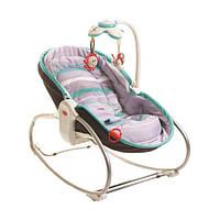Кресло - кроватка - качалка «Tiny Love» Мамина любовь 3 в 1, цвет серо-голубой (1802606130)