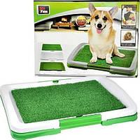 Туалет для собак Puppy Potty Pad, коврик лоток для собак, туалет для собак травка puppy potty pad