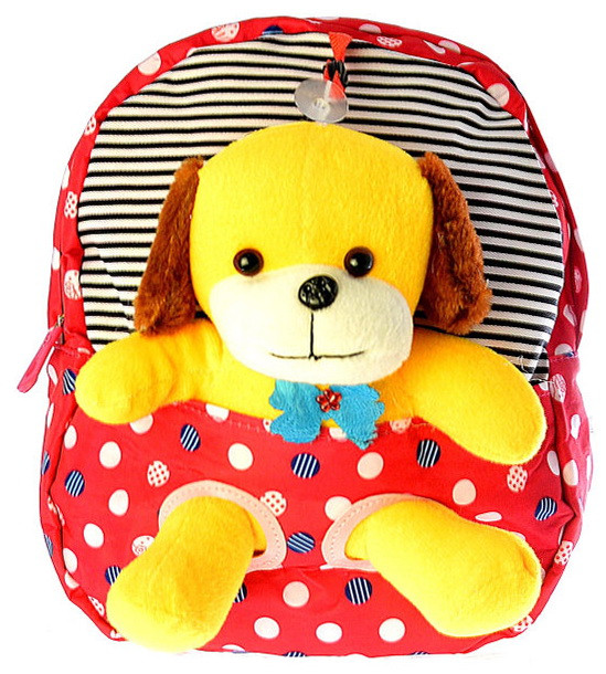 "Детский рюкзак игрушка ""Собачка"" 0407"