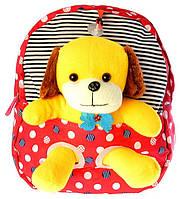 """Детский рюкзак игрушка """"Собачка"""" 0407, фото 1"""