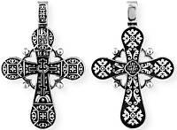 Крест серебряный Православный Голгофский крест 8710-R