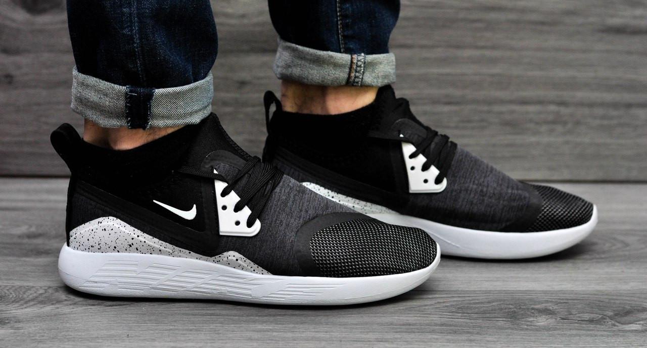 кроссовки nike lunarcharge premium le  мужские ,стильные