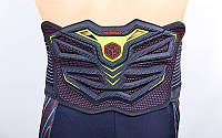Пояс защитный для мотоциклиста SCOYCO U11 (PU, полиэстер, р-р регулируемый)