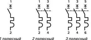 Автоматичний модульний выключателье.mcb.stand.45.1.B16, 1р, 16А, В, 4.5 кА, фото 2
