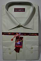 Оливковая приталенная мужская рубашка BENDU (размеры 38,39,40,41,42), фото 1