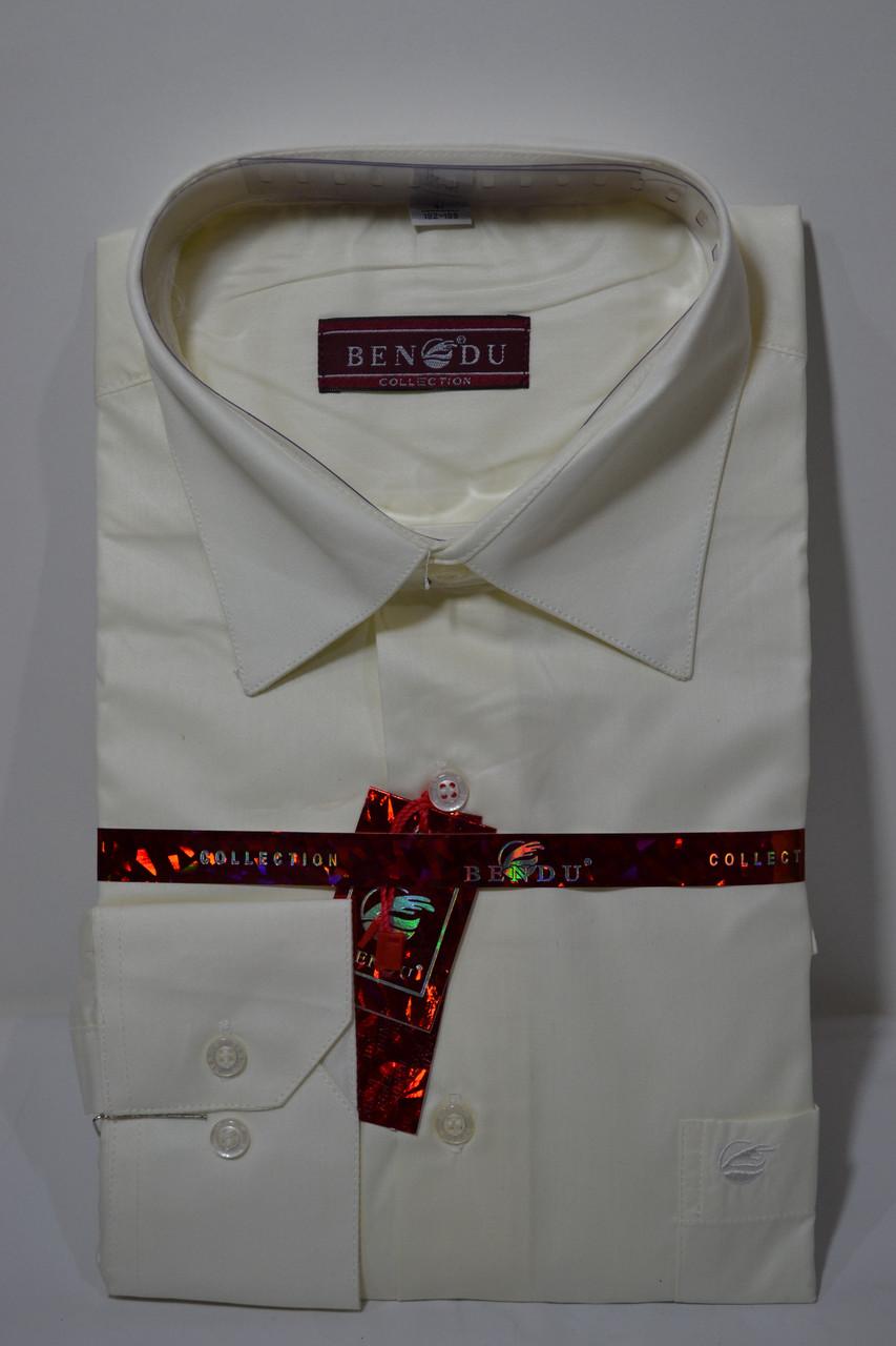Приталенная мужская рубашка BENDU (размер 41)