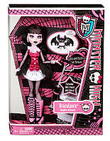Кукла Monster High Дракулаура базовая с питомцем Draculaura