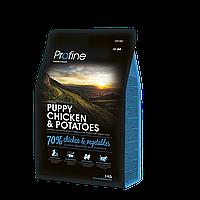 Корм для собак Profine Puppy Chicken 15 кг курица и картофель, профайн для щенков