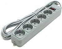 """Сетевой фильтр Gembird SPG3-B-15PP """"Power CUBE""""4.5м 5 розеток, серый"""