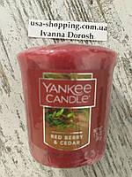 """Свеча """"Красные ягоды и сидр"""" Yankee Candle"""