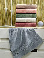 """Полотенце. Банное махровое полотенце """"Валентика"""". Большое полотенце из махры. Турецкие банные полотенца"""
