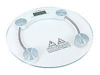 Весы электронные напольные бытовые стеклянные круглые JKC-2 // JKC-2 219