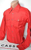 Красная приталенная рубашка ESCADA (размеры 37.38,39,40.41.42,43), фото 1