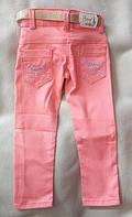 Цветные детские джинсы оптом. Для девочек от 1 до 12 лет. Турция. Новое поступление!