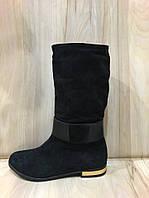 Ботинки демисезонные (36-40) натуральная замша купить в Розницу в Одессе Украина 7км