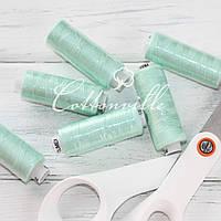 Нитки швейные 40s/2 (200 м) цвет светлый мятный