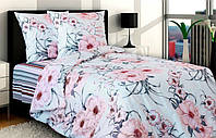 Комплект постельного белья семейный (5-предметный) ТМ Блакит (Беларусь), Лилея, поплин