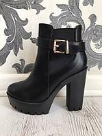 Женские ботинки демисезонные (36-40) кожа искусственная купить в Розницу в Одессе Украина 7км