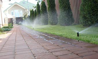 Система полива и капельное орошение в коттеджном городке Солнечный 12