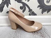 Туфли (36–40) — искусственный лак купить в розницу в одессе украина 7км