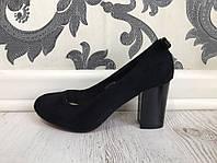 Туфли (36–40) — искусственная замша купить в розницу в одессе украина 7км