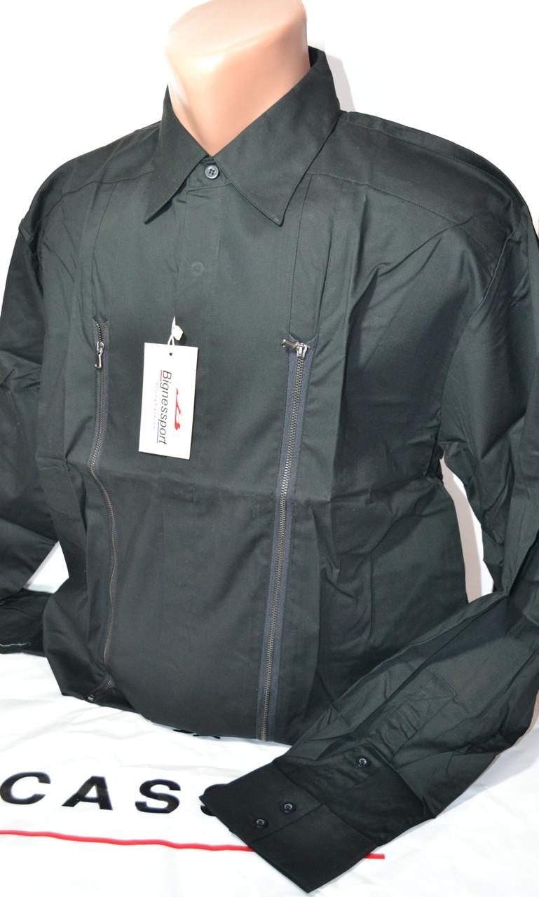 Приталенная рубашка BIGNESS (размеры 38,39,40,41)