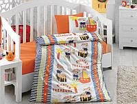 Постельное белье для детской кроватки Cotton Box Hazine Oranj