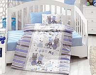 Постельное белье для детской кроватки Cotton Box Midilli Mavi