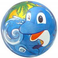 """Мяч детский с рисунком """"дельфин"""", YT6011"""