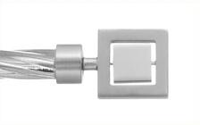 Декоративный наконечник Венетто для кованого карниза 19 мм.