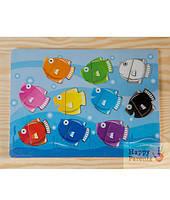 Рамки-вкладыши «Рыбки»