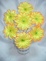 Букет крокус атлас (21 шт в уп) искусственные цветы , фото 1