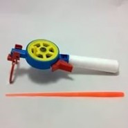 Удочка зимняя пенопластовая ручка закрытая катушка