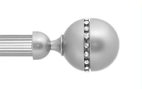 Декоративный наконечник Кортеза для кованого карниза 19 мм.