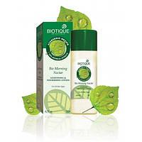 """Bio Morning Nectar (Био Утренний Нектар) Легкий питательный и увлажняющий лосьон для лица """"Biotique"""" / 120 мл"""