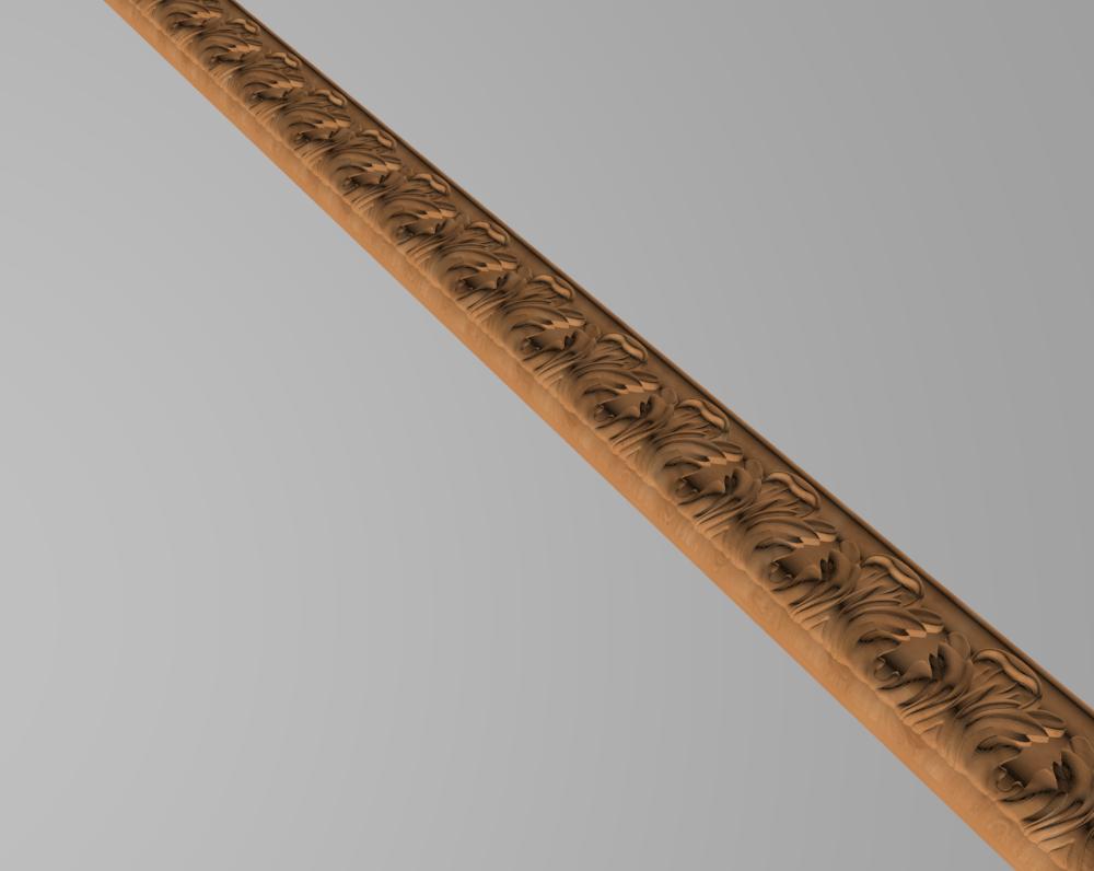 Код М9. Деревянный резной декор для мебели. Молдинг