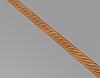 Код М10. Деревянный резной декор для мебели. Молдинг