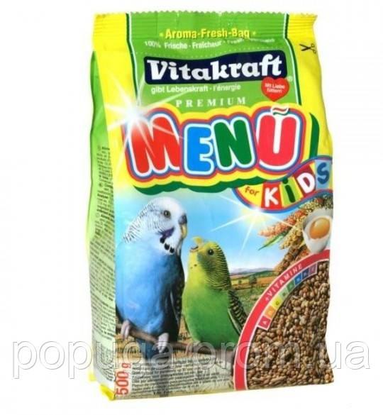 Корм для волнистого попугая Vitakraft KiDS , 0.5кг