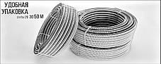 Труба гофрированная 25мм из нержавеющей стали с ПЭ оболочкой Dispipe 25GFР, неотожженная, фото 3