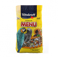 Vitakraft Menu Корм для крупных попугаев, 1 кг
