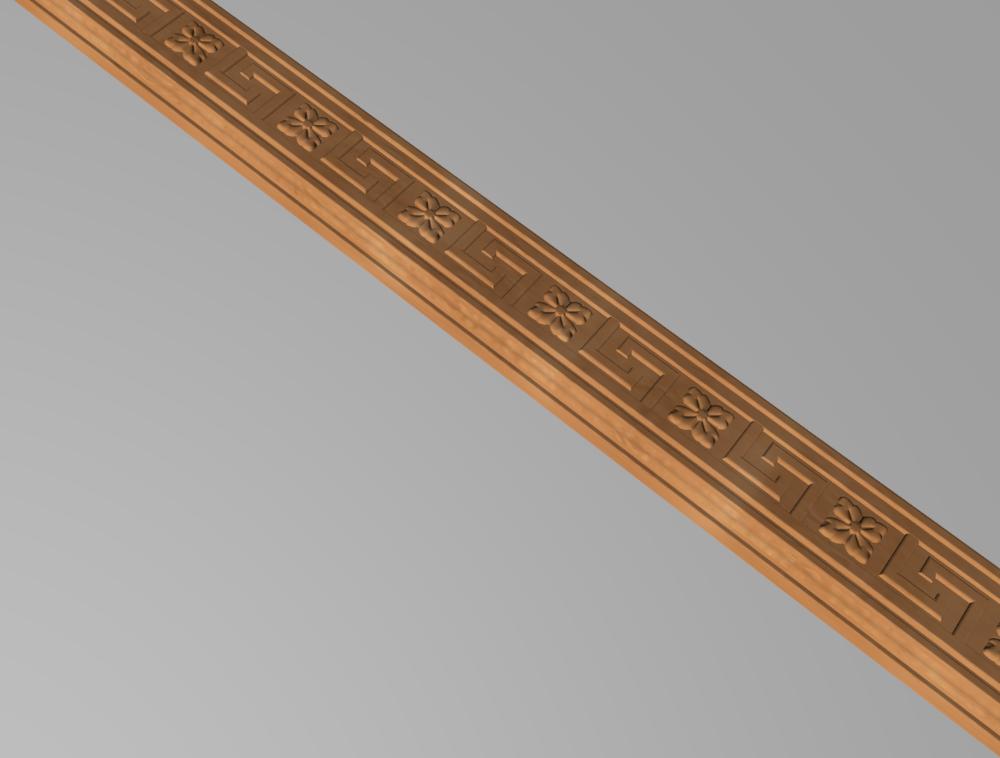 Код М12. Деревянный резной декор для мебели. Молдинг